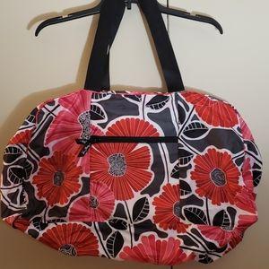 Vera Bradley collapsible duffel bag